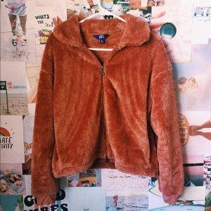 Joy lab furry coat